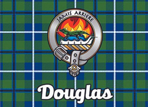 Douglas: Glass Coaster, Pack of 6