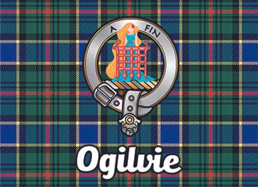 Ogilvie: Glass Coaster, Pack of 6