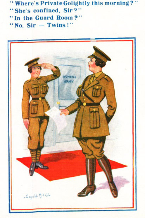 Good Luck In The Army - Donald McGill - Postcards Pack of 48