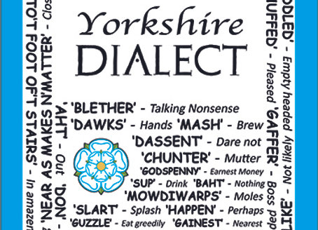Yorkshire: Dialect Tea Towel Pack of 12