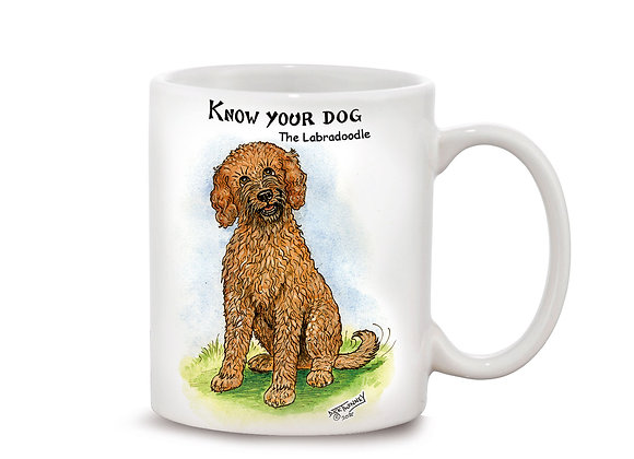 Labradoodle - 11oz Mug - Know Your Dog - Pack of 6