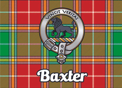Baxter: Glass Coaster, Pack of 6