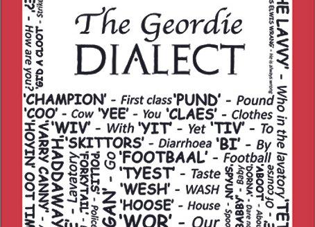 Geordie: Dialect Tea Towel Pack of 12