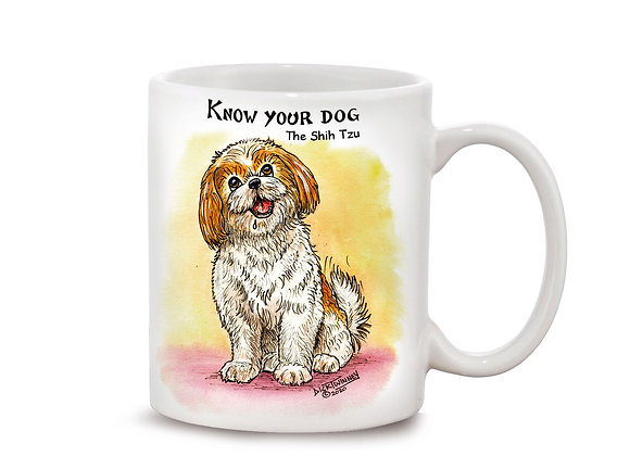 Shih Tzu - 11oz Mug - Know Your Dog - Pack of 6