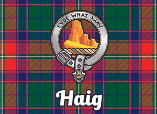 Haig: Glass Coaster, Pack of 6