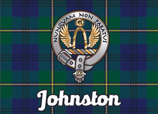 Johnston: Glass Coaster, Pack of 6