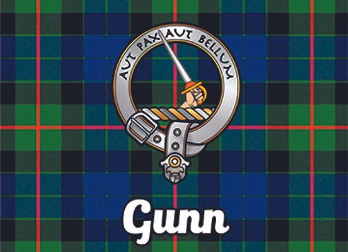 Gunn: Glass Coaster, Pack of 6