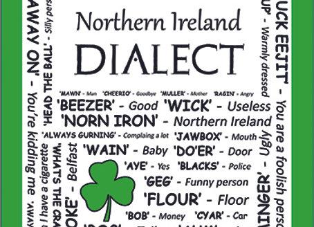 Northern Ireland: Dialect Tea Towel Pack of 12