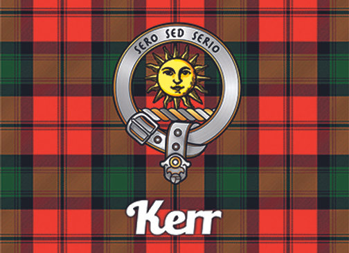 Kerr: Glass Coaster, Pack of 6