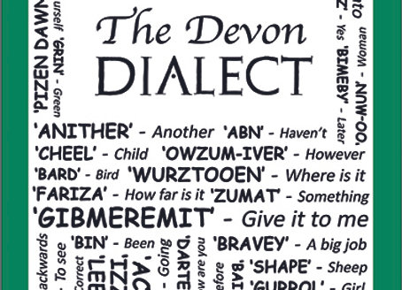 Devon: Dialect Tea Towel Pack of 12