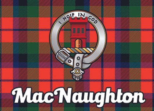 MacNaughton: Glass Coaster, Pack of 6