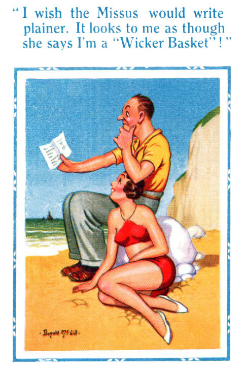 Missus - Donald McGill - Postcards Pack of 48