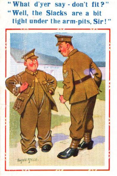 Slacks - Donald McGill - Postcards Pack of 48