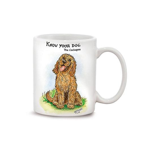 Cockapoo - 11oz Mug - Know Your Dog - Pack of 6