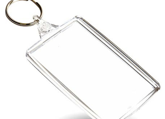 Acrylic Keyring - Pack of 48