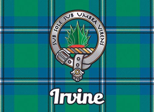 Irvine: Glass Coaster, Pack of 6