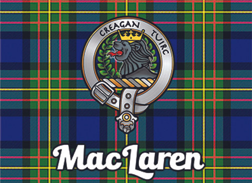 MacLaren: Glass Coaster, Pack of 6