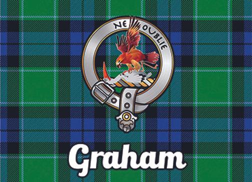 Graham: Glass Coaster, Pack of 6