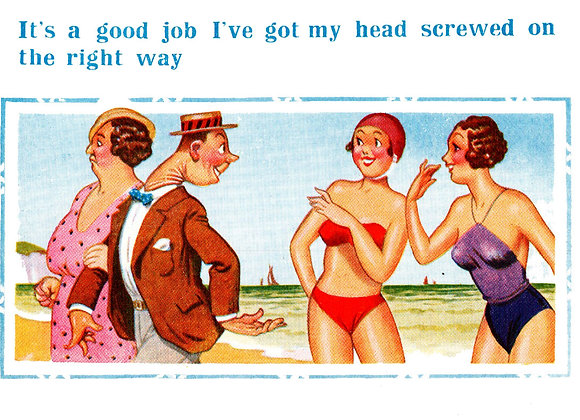 Screwed On - Donald McGill - Postcards Pack of 48