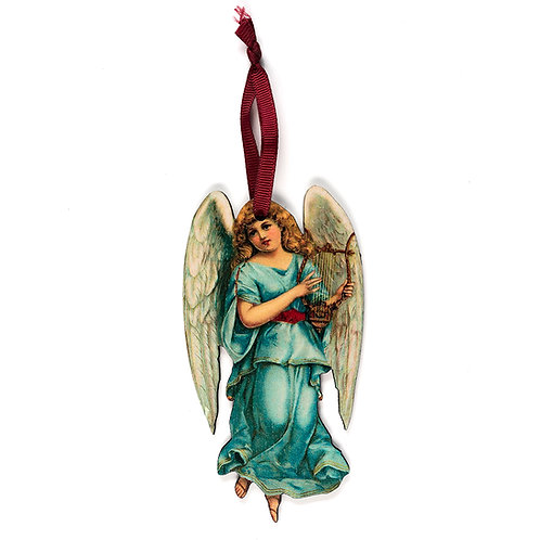 Angel - Wooden Tree Hanger - Pack of 12