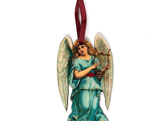 Angel - Wooden Tree Hanger - Pack of 12