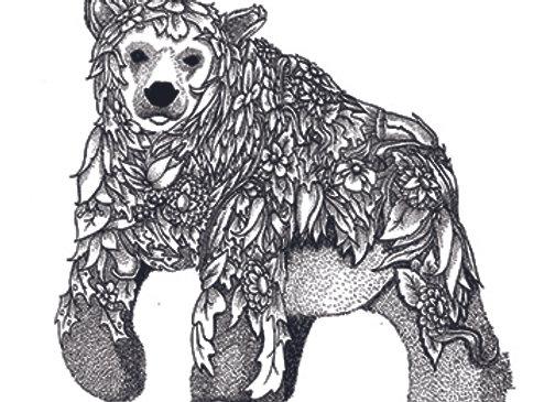 004625 Gray Bear