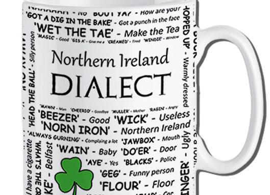 Northern Ireland: Dialect Mug Pack of 6