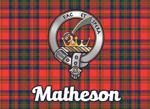 Matheson: Glass Coaster, Pack of 6