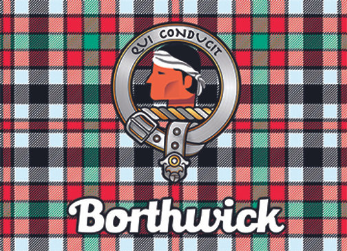 Borthwick: Glass Coaster, Pack of 6