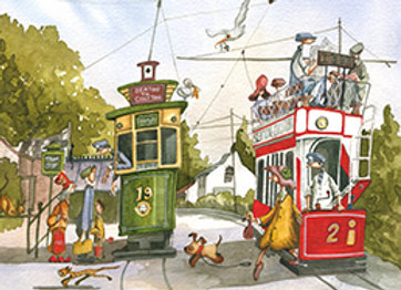 004738 Lady and the Tram