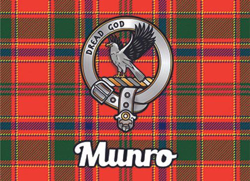 Munro: Glass Coaster, Pack of 6