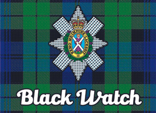 Black Watch: Glass Coaster, Pack of 6
