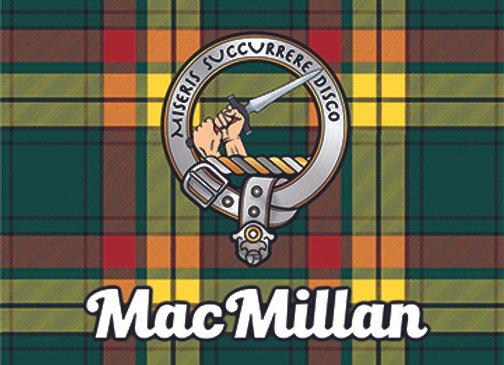 MacMillan: Glass Coaster, Pack of 6