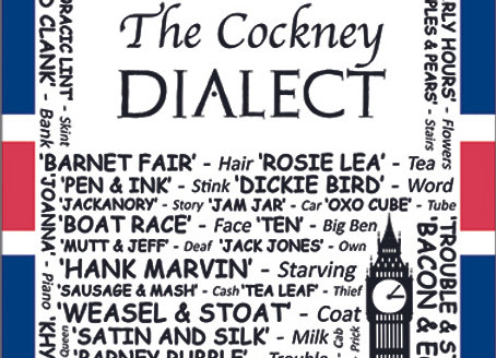 Cockney: Dialect Tea Towel Pack of 12