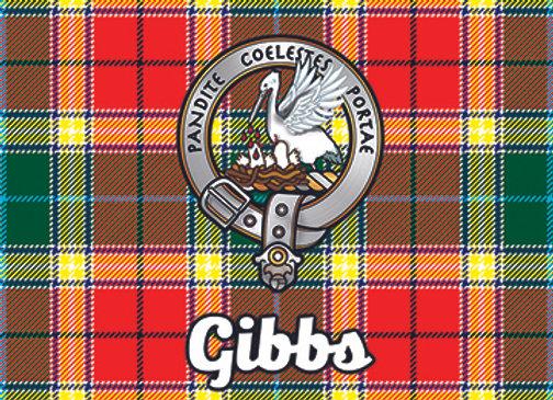 Gibbs: Glass Coaster, Pack of 6