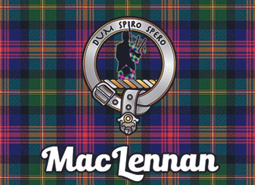 MacLennan: Glass Coaster, Pack of 6