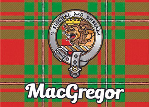 MacGregor: Glass Coaster, Pack of 6