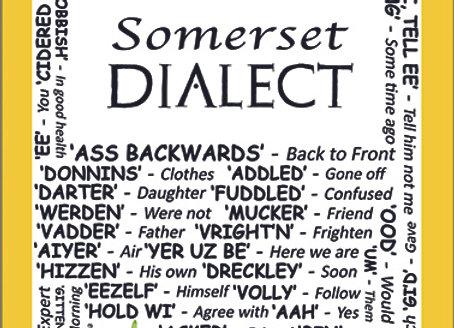 Somerset: Dialect Tea Towel Pack of 12