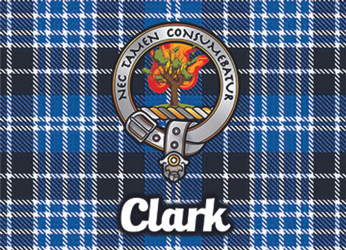 Clark: Glass Coaster, Pack of 6