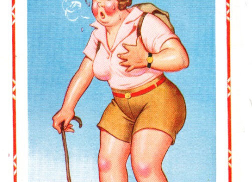 Short Pants - Donald McGill - Postcards Pack of 48