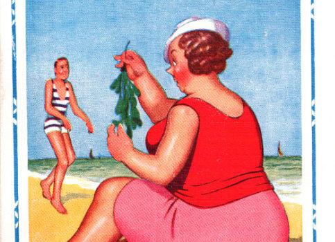 Seaweeds Damp - Donald McGill - Postcards Pack of 48