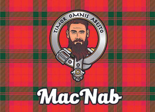 MacNab: Glass Coaster, Pack of 6