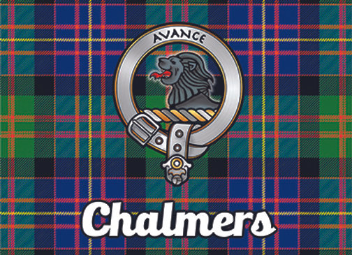 Chalmers: Glass Coaster, Pack of 6