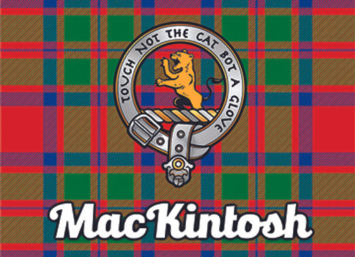 MacKintosh: Glass Coaster, Pack of 6