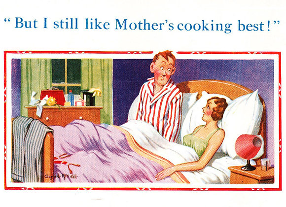 Mothers Cooking - Donald McGill - Postcards Pack of 48