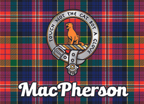 MacPherson: Glass Coaster, Pack of 6