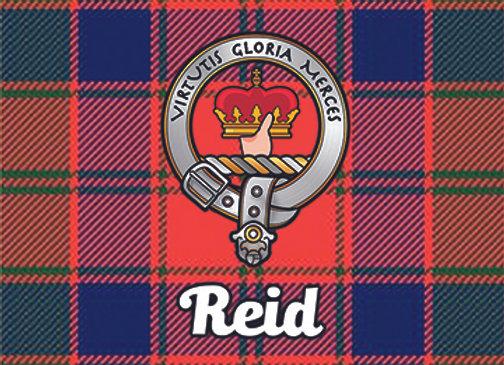 Reid: Glass Coaster, Pack of 6