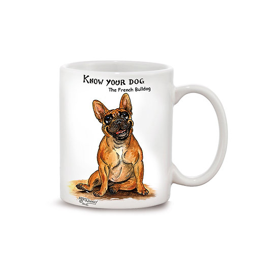 French Bull Terrier - 11oz Mug - Know Your Dog - Pack of 6
