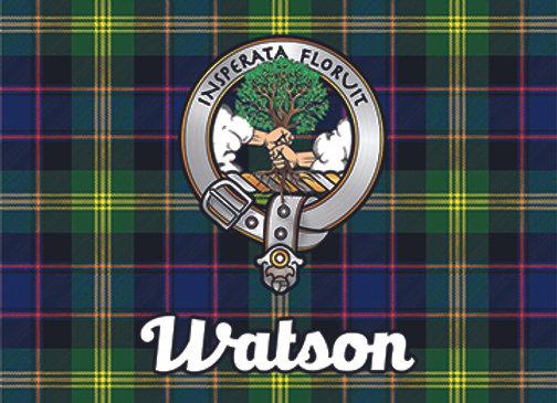 Watson: Glass Coaster, Pack of 6
