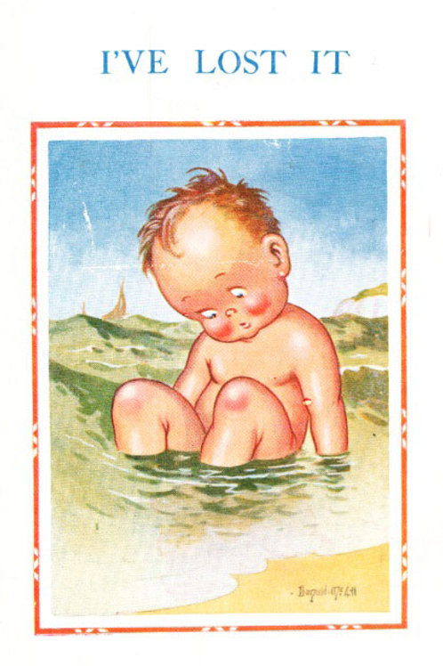 Lost It - Donald McGill - Postcards Pack of 48